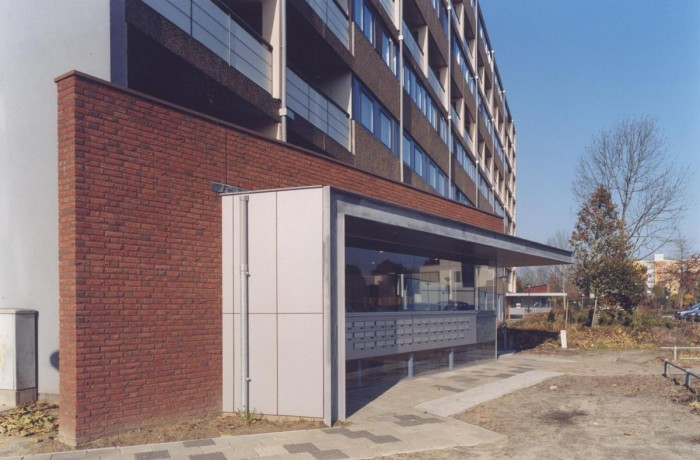 Entrees appartementen Geldrop